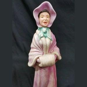 Christmas Caroler Ceramic Female